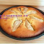 recette Amandine aux poires