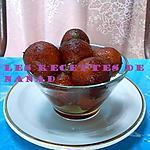 recette Rasgulla/gulab jamun (boules au lait et à la semoule)