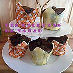 recette Muffins chocolat-cranberries