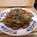 recette Poulet et mange-tout à l'asiatique