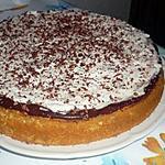 recette genoise a la mousse au chocolat