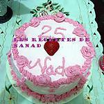 recette Gâteau choco-fruits rouges d'anniversaire