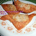 recette Wan tan frits