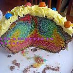 recette Cupcake surprise géant de Pâques