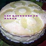 recette Gâteau au custard-ananas