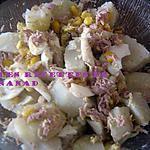 recette Salade de pommes de terre au thon