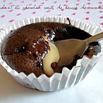 recette Coulant au Chocolat, Coeur de beurre de cacahuètes