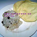 recette Perles de tapioca et papadum