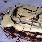 recette Brownie - Cheesecake