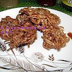recette Gateau aoui (Boulettes croustillantes de taro)