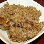 recette Gâteau de riz brun moelleux sans lait ni crème