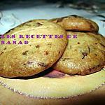 recette Biscuits au chocolat noir à l'orange