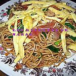 recette Mines frites de l'île Maurice (nouilles sautées)