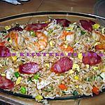 recette Riz frit mauricien (style cantonnais)