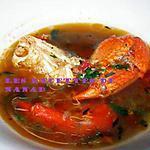 recette Bouillon de crabe mauricien