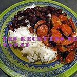 recette Rougaille saucisses et haricots rouges