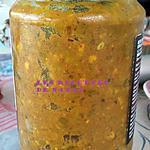 recette Achard piments tamarin