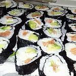 recette Sushis au saumon frais