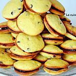 recette Biscuit à la banane aux pépites de chocolat