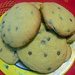 recette Cookies à la farine de mais & pépites de chocolat
