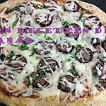 """recette Pizza """"la créole"""" de l'ile de la Réunion"""