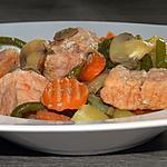 recette Rôti Ardennais cuit en compagnie de ses légumes