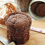 recette Moelleux au chocolat dans le bocal, bio {sans gluten, sans oeufs, sans lait, végétalien}