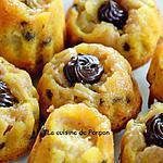 recette Muffin à la banane et aux pépites de chocolat, sans gluten!