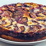 recette Gâteau brioché aux prunes