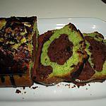recette Marbré chocolat pistache