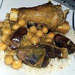 recette Tajine d'agneau au dattes