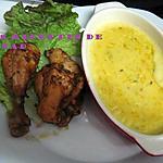 recette Sauce blanche de giraumon (potiron) et poulet Maggi