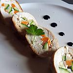 recette Ballotine de poulet farcie aux légumes