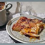 recette Gratin de Potiron, Pommes de terre, Bacon et Lardons