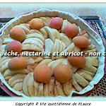 recette Tarte pêche, nectarine et abricot