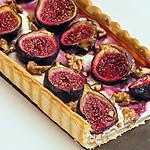 recette Tarte aux figues et aux noix