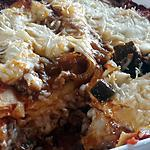 recette Lasagnes boeuf, aubergine et parmesan