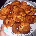 recette Beignets aux pommes à la farine de mais