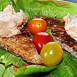 recette Canapés de mousse de saumon-ricotta et crème