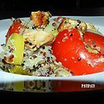 recette Ma table aspirant mon assiette de quinoa aux poireaux-tomates et poulet