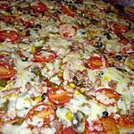 recette PATE A PIZZA  MAISON