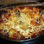 recette Blettes gratinées à la sauce tomate