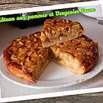 recette Gâteau aux pommes et vergeoise
