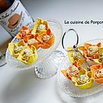recette Amuse bouche à la crème d'anchois