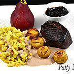 recette Filet de Cerf, Sauce au Vin Rouge et ses Accompagnements