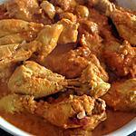 recette Mijoté de pilons de poulet tomate/coco