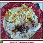 recette Escalope de dinde aux épices libanaises