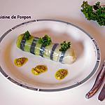 recette Poireau vinaigrette revisité en cannelloni