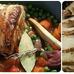 recette Rôti de porc aux legumes et vinaigre balsamique