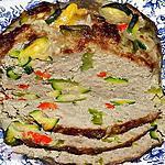 recette Pain de viande aux légumes du Sud